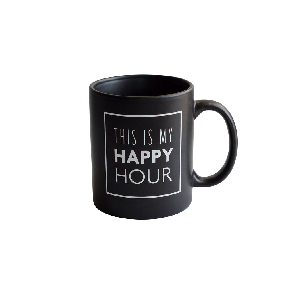 this is my happy hour: coffee mug
