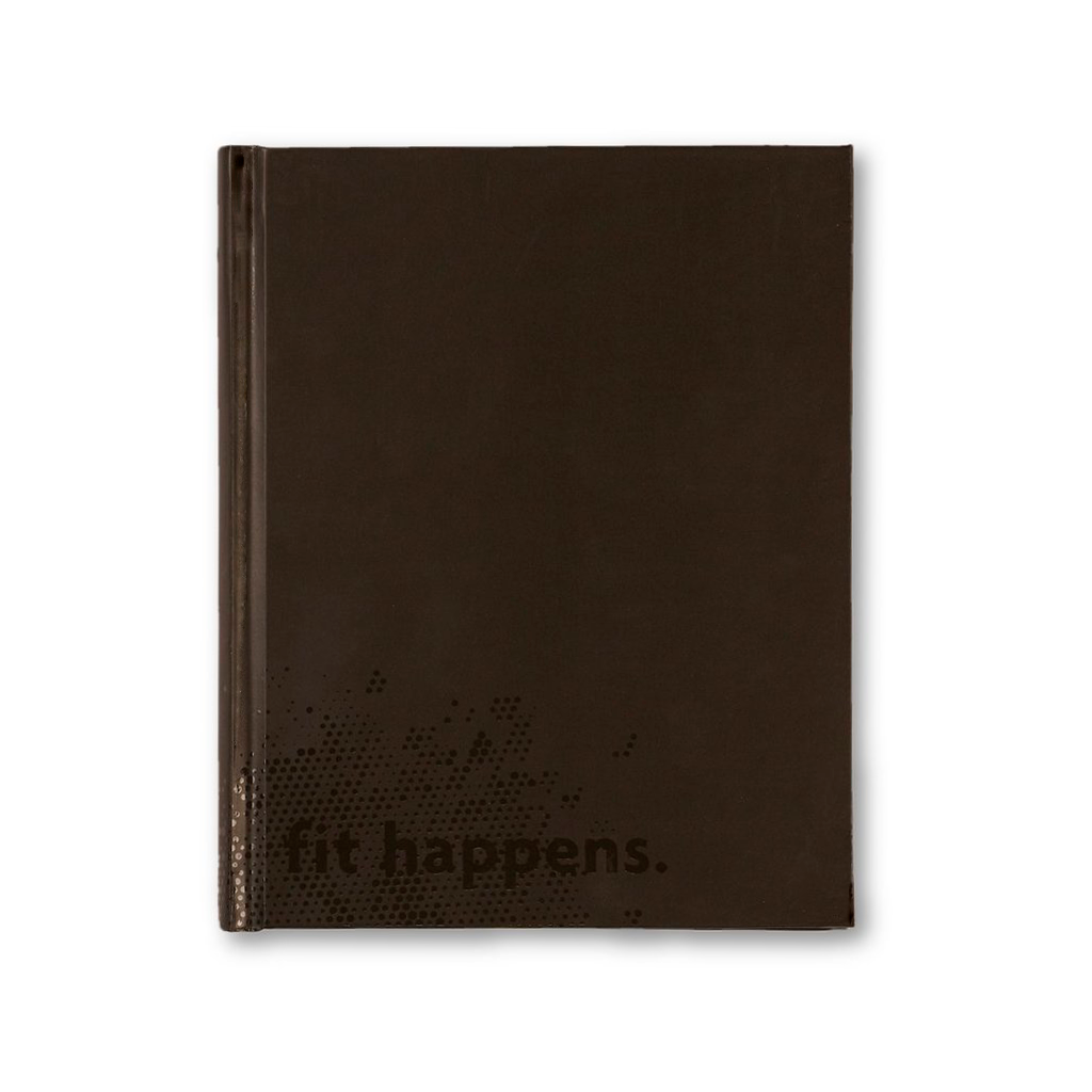 fit happens: fitspiration gratitude + fitness journal [casepacks]