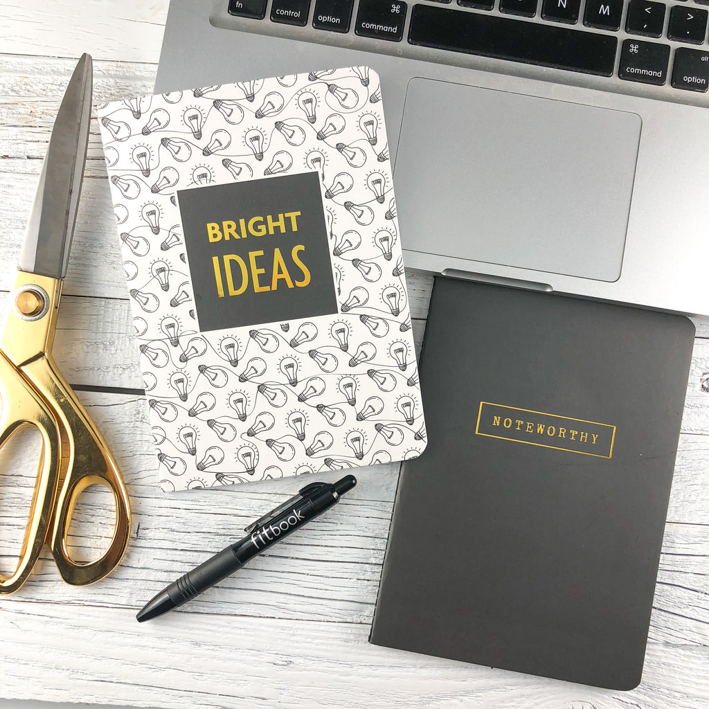 noteable journal set: bright ideas and noteworthy