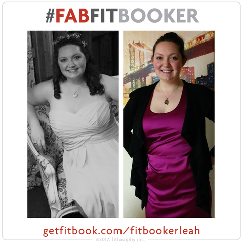 #fabfitbooker leah: from bridesmaid to weight-loss crusade