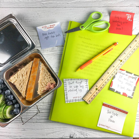 busy with back-to-school? 3 little ways to stay sane + organized.