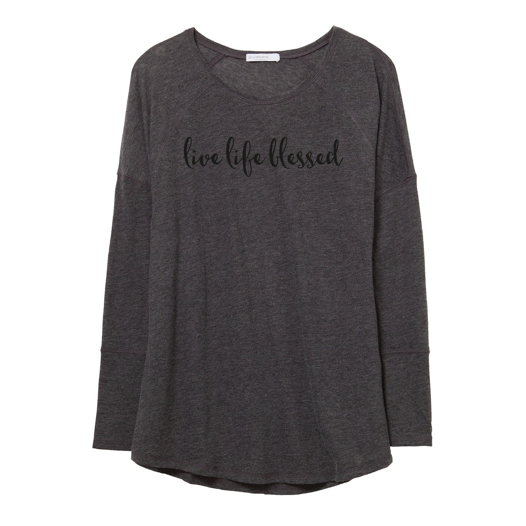 live life blessed: long sleeved t-shirt