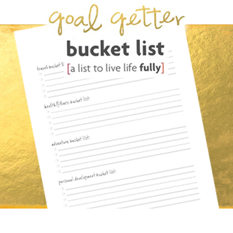 goal getter bucket list: live life fully [free download]