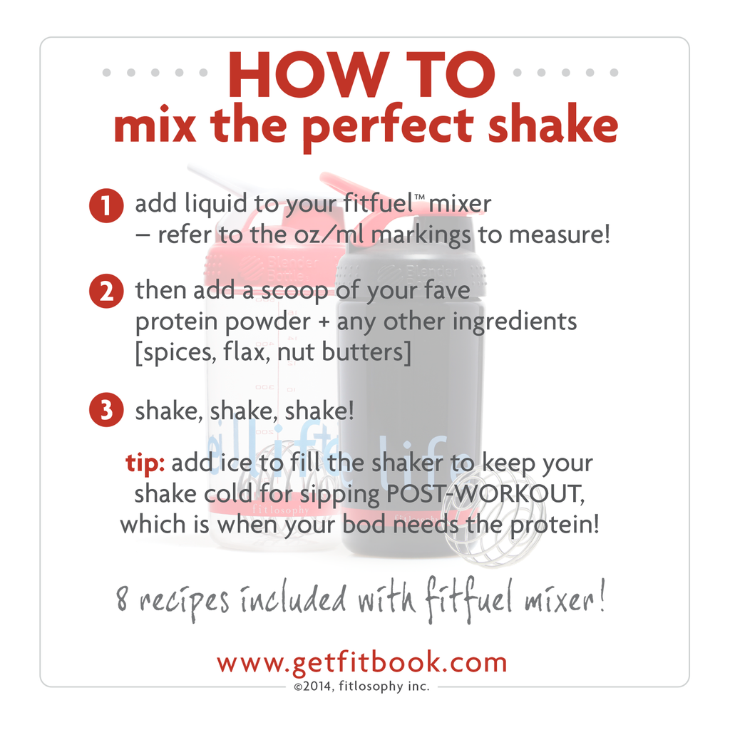 fitfuel mixer: protein shaker