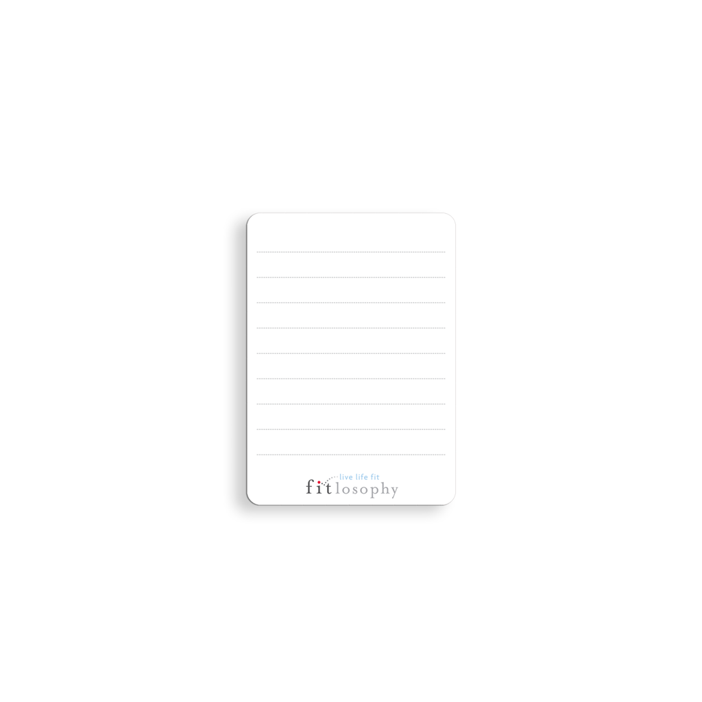 FITspirations: mini note cards