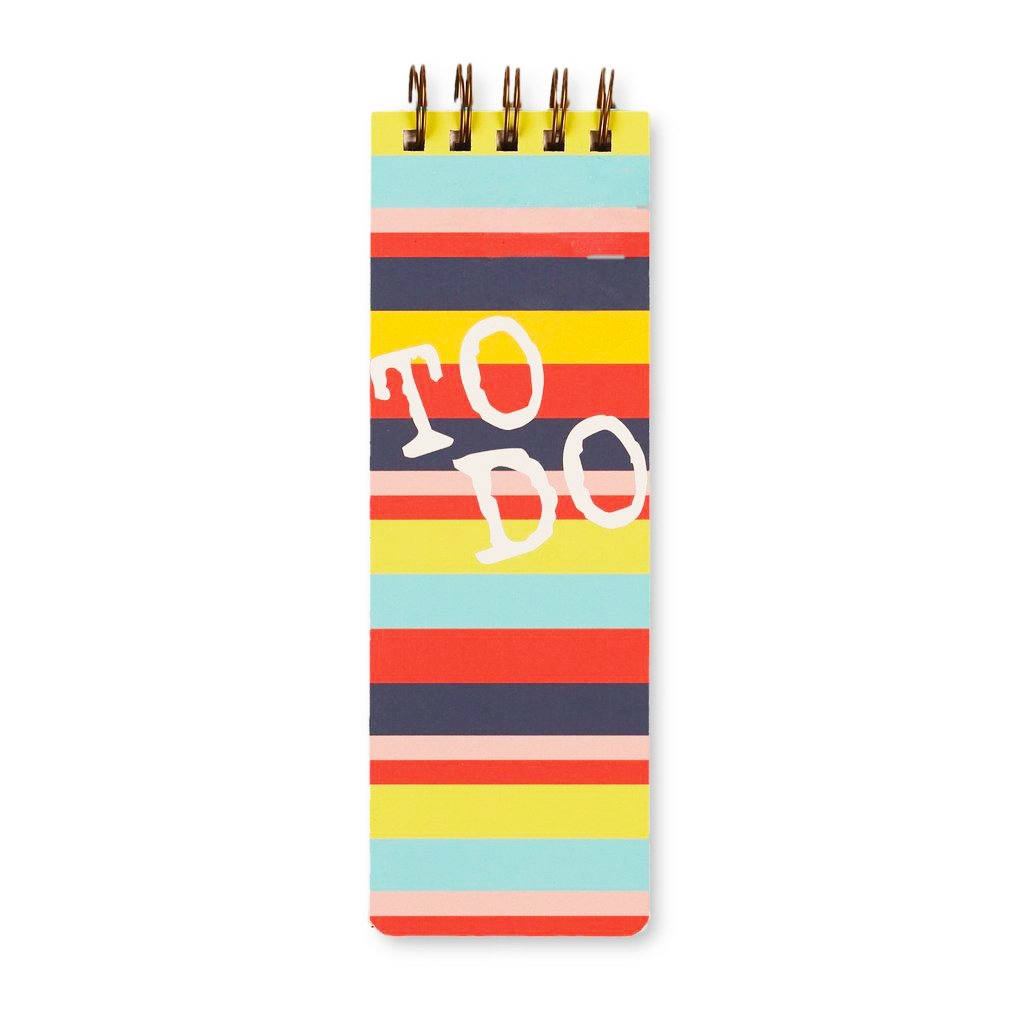 bright stripe: daily to-do jotter [casepacks]