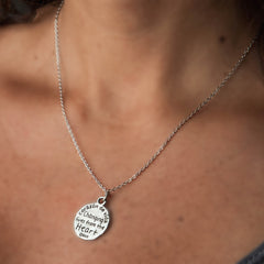 Corazon de Vida heart necklace
