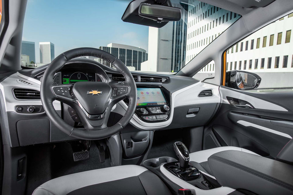The Chevrolet Bolt Ev Is Motor Trends Car Of The Year