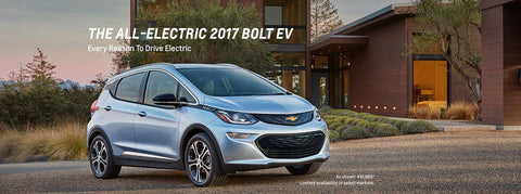 The Chevrolet Bolt EV is Motor Trend's Car Of The Year
