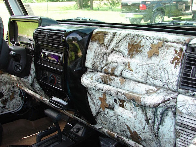 How to Outfit the Interior of Your Vehicle Entirely in Camo
