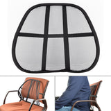 Multi-use Mesh Lumbar Support System Cushion