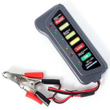 12 Volt LED Battery and Alternator Tester For Cars and Trucks