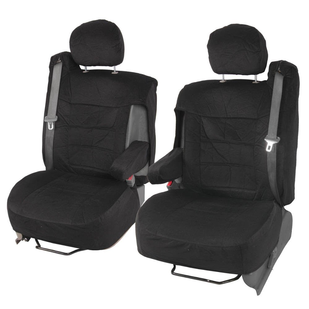 Encore Velour Cloth Truck And Suv Front Seat Covers W Armrest