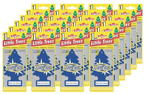 Air Freshener - New Car Scent - 24 Pack
