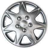 "Drive Accessories KT915-17S/L ABS Silver 17"" Plastic Wheel Cover Hubcap - Pac..."
