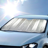 "Double Bubble Sun Shade for Front Windshield - Standard Size - 50.5"" x 24"""