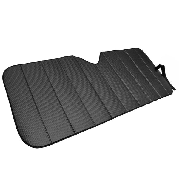 Motor Trend Front Windshield Sunshade - Standard Accordion Folding Auto Shade for Car Truck SUV 58