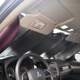 "Motor Trend Front Windshield Sunshade - Standard Accordion Folding Auto Shade for Car Truck SUV 58"" x 24"" - 4 Color Options"