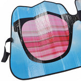 "Sunglasses Accordion Auto Sun Shade - Front Windshield Sun Protector - 58"" x 28"""
