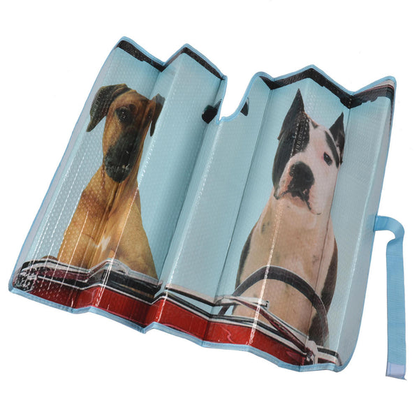2 Dogs Auto Sun Shade For Car Suv Truck Pet Pals