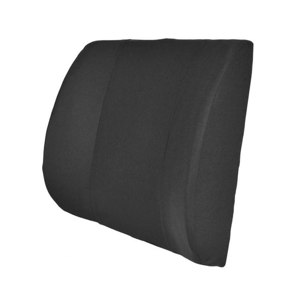 Foam Cushion Lumbar Pillow Support - For Home Office Auto Car - 3 Color Options