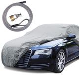 "BDK ""Classic Defense"" Car Cover - Water Resistant 1 Layer - Lock Included (5 Size)"