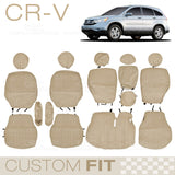 Car Seat Cover for Honda CR-V 2007 to 2011 Custom Fit Exact trim Encore Beige