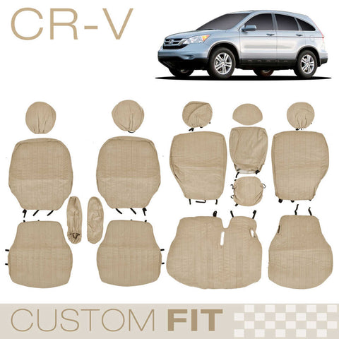 BDK Custom Fit Seat Covers for Honda CR-V - OEM Micro Fit (3 Color)