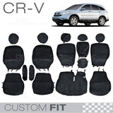 Honda CR-V 2007 to 2011 Encore Seat Covers Custom Fit Exact Trim Black