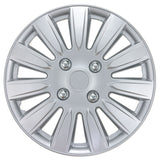 "BDK Nissan Replica Style Hubcaps OEM 15"" Wheel Covers 4 Pieces Full Set"