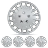 "Hubcap 15"" Wheel Cover 4 PC OEM Replacement ABS Protection NEW"