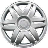 "BDK 00-01 Toyota Camry Hubcaps Wheel Cover, 15"" Silver Replica Cover, (4 Pieces)"