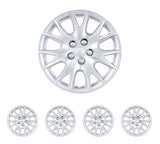 "BDK USA 4 Piece KT 950 15"" Silver Replacement Hubcaps"