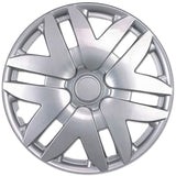 "BDK 04-08 Toyota Sienna Hubcaps OEM Replica - 16"", Silver, 4 Pieces"