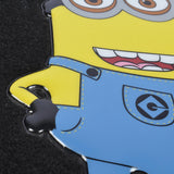 "Despicable Me - ""Minions"" Jerry Waving  - 4pc Carpet Car Floor Mats"