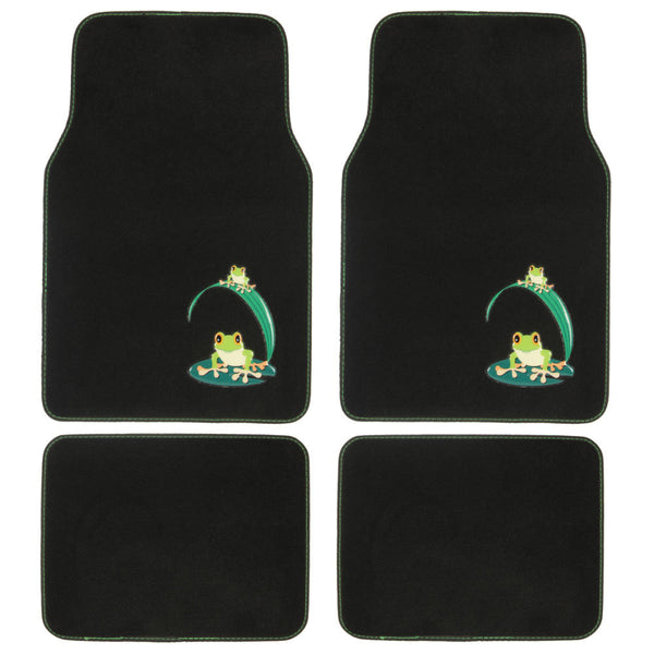 Frog Design Car Floor Mats - 4 Piece