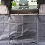 TravelDog Waterproof Bench Seat Cover Protector for Pets - Black Oxford Hammock (2 Size)