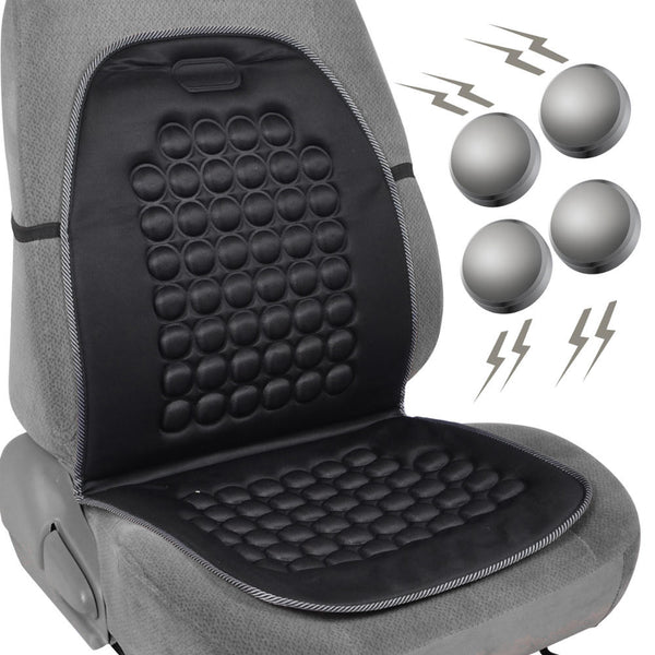 Magnetic Bubble Seat Cushion - Black