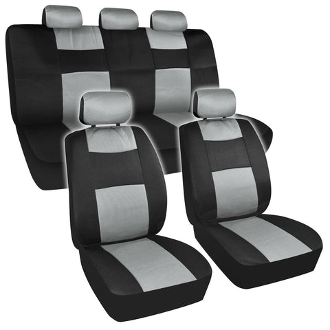 BDK Breathable Mesh Seat Covers for Car SUV Truck - 1