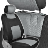 "BDK Breathable Mesh Seat Covers for Car SUV Truck - 1"" Thick Comfort Padding - Prime (5 Color)"