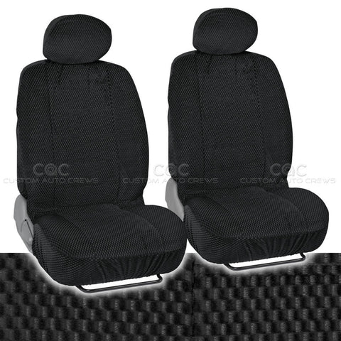Scottsdale Seat Covers - Premium Cloth Front Pair 2pc For Car/SUV (4 Color)
