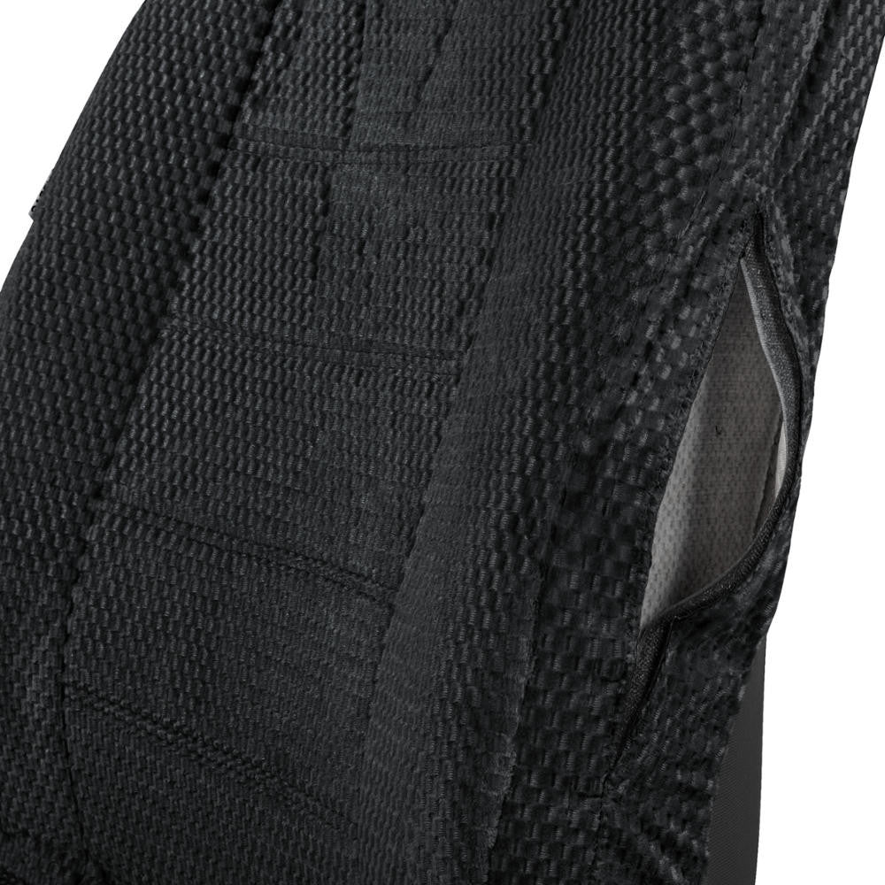 Black Scottsdale Premium Cloth Front Seat Covers