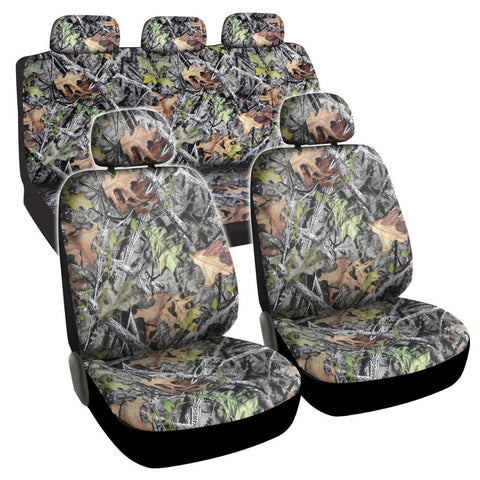 Camo Seat Covers -9pc Universal Fit