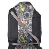 High Back Truck Seat Covers Integrated Seatbelt For Pickups SUVs (Black/Camo)