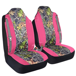 Cool High Back Truck Seat Covers Integrated Seatbelt For Pickups Suvs Pink Camo Caraccident5 Cool Chair Designs And Ideas Caraccident5Info