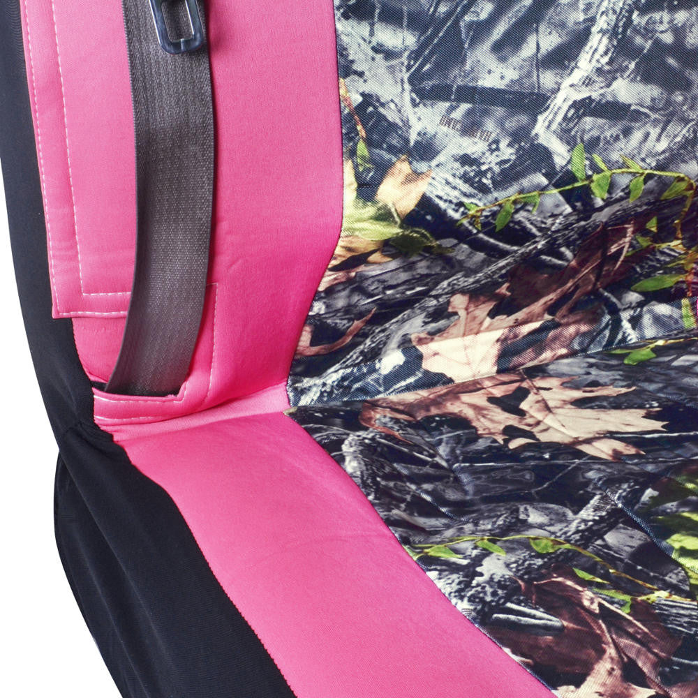 Pink And Camo High Back Universal Truck Seat Covers