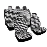 "BDK ""Chevron"" Design Car Seat Covers - Full Set (3 Color)"