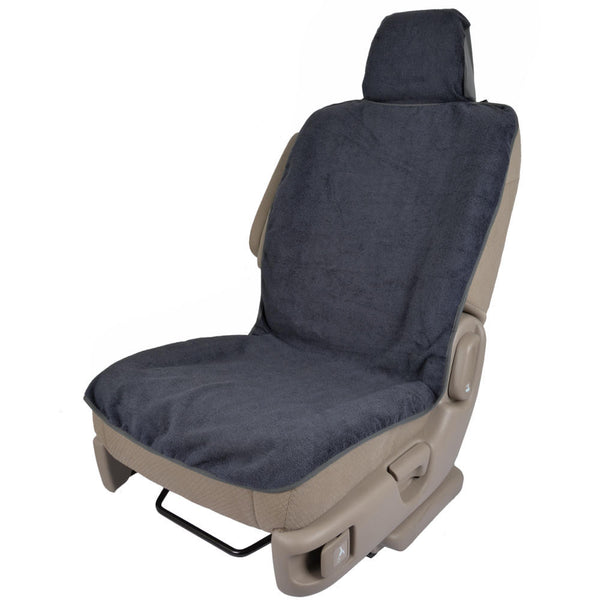 Towel Seat Cover (Gray Trim)