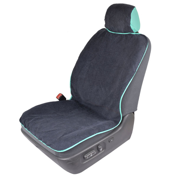 Towel Seat Cover (Mint Trim)