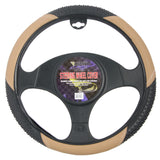BDK Massage Grip Steering Wheel Cover (Beige)